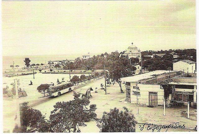 Η πλατεία Γλυφάδας το 1960