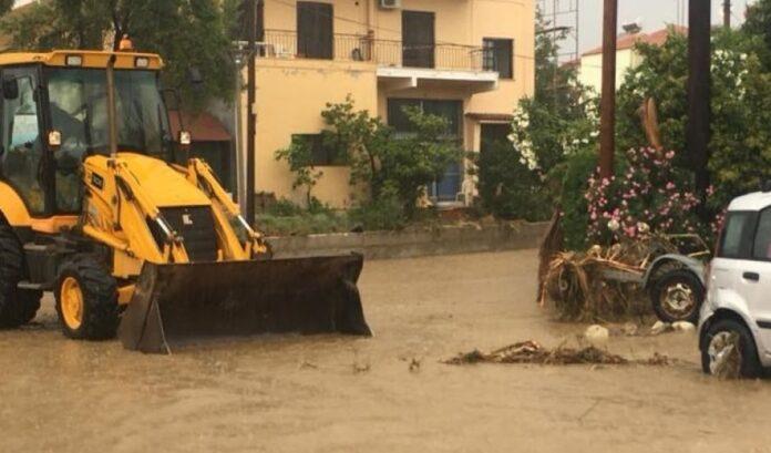 ζημιές από τις πλημμύρες