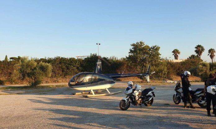 αναγκαστική προσγείωση ελικοπτέρου