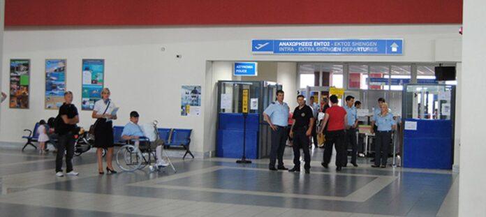 αεροδρόμιο συλλήψεις