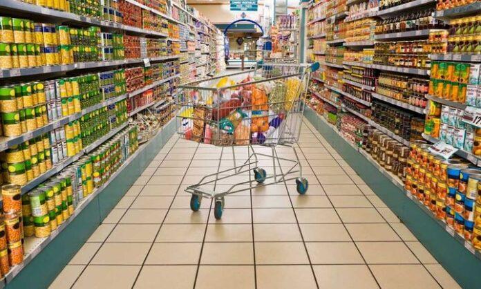 κλοπή σε σούπερ μάρκετ.