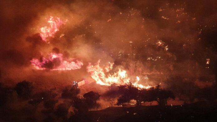 φωτιά στη Βούντενη