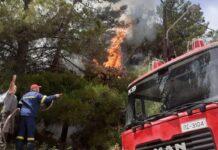 φωτιά στην Ζάκυνθο