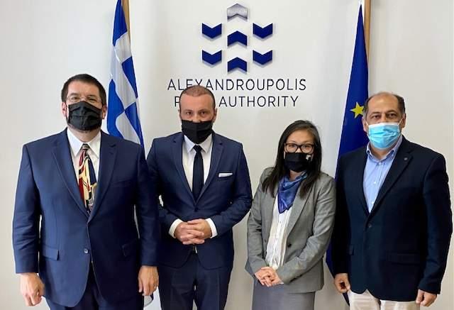 διπλωμάτες,Αλεξανδρούπολη