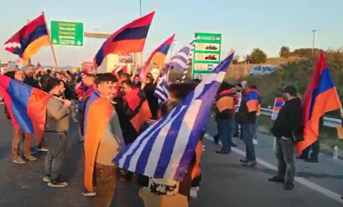 διαμαρτυρία Αρμενίων