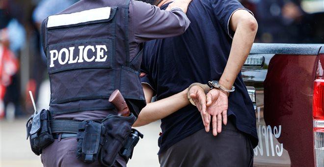 σύλληψη διακινητή