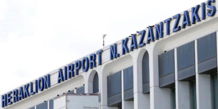 aerodromio Irakliou Nikos Kazantzakis