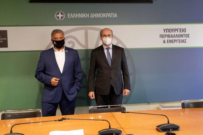 O Giorgos Patoulis kai o Kostis Hatzidakis