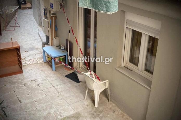 thanatos 53xronis thessaloniki