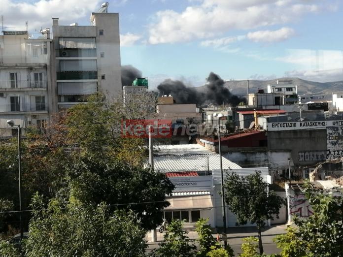 φωτιά στην Αθήνα