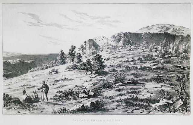 παλιά φωτογραφία φρουρίου φυλής