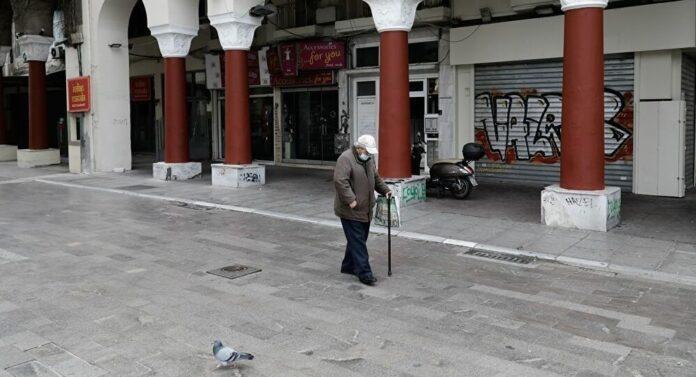 ανδρας περπαταει