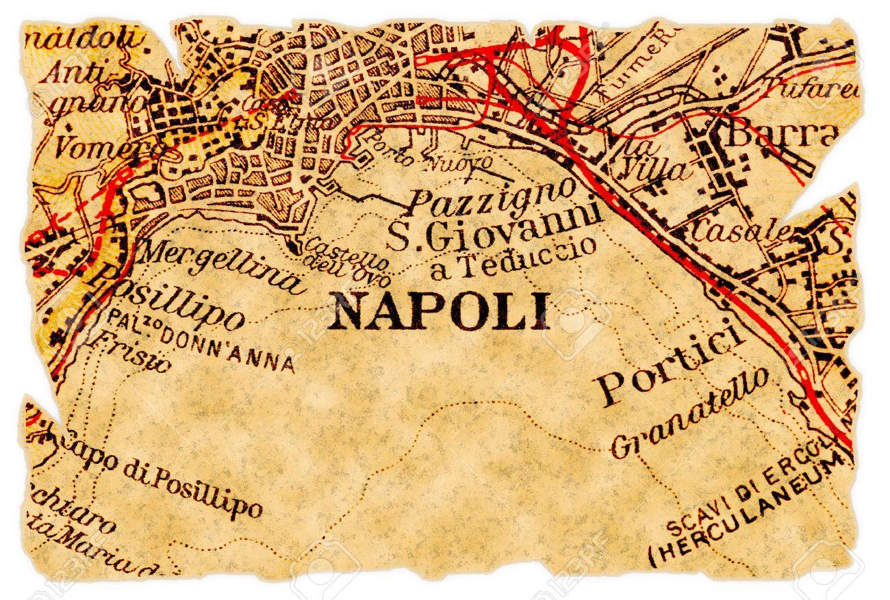 ναπολη χαρτης