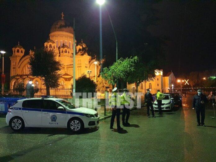 Αστυνομία έξω από τον Ναό