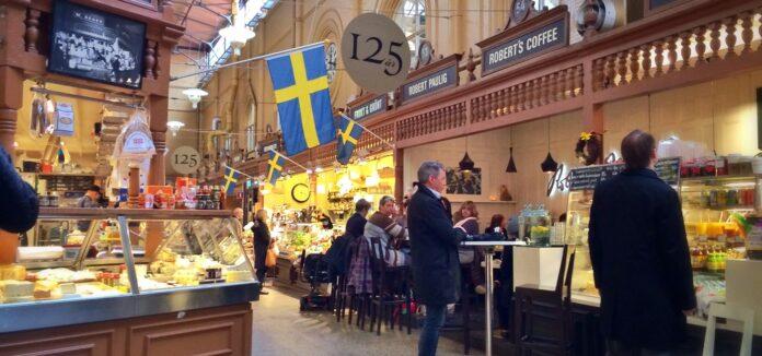 σημαια σουηδια αγορα