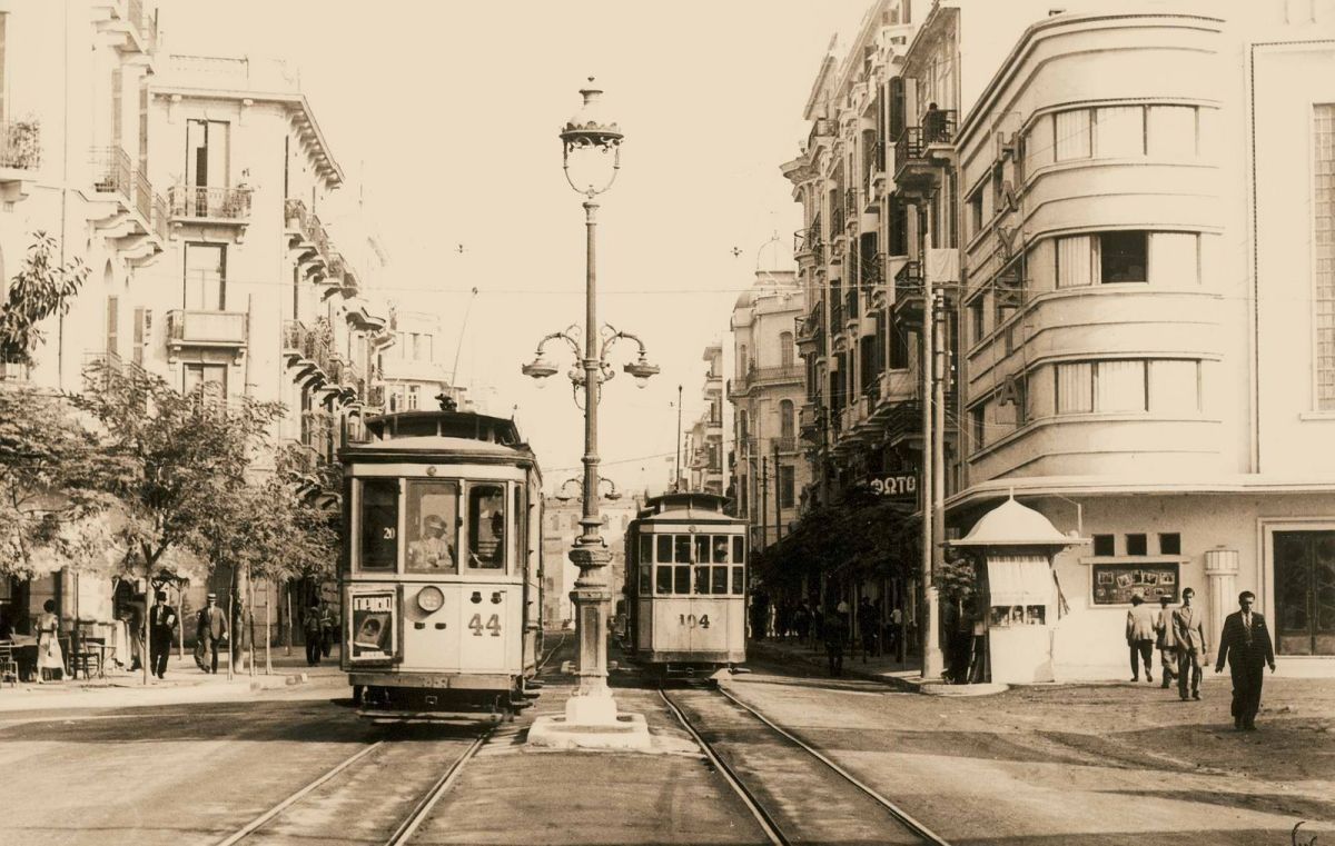 τραμ δρομος