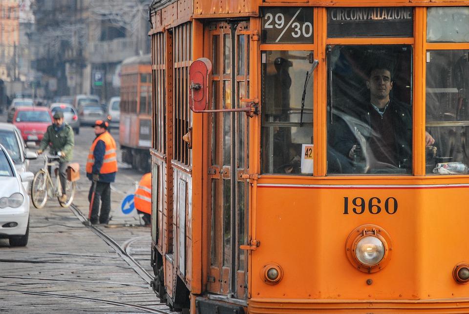 κιτρινο τραμ