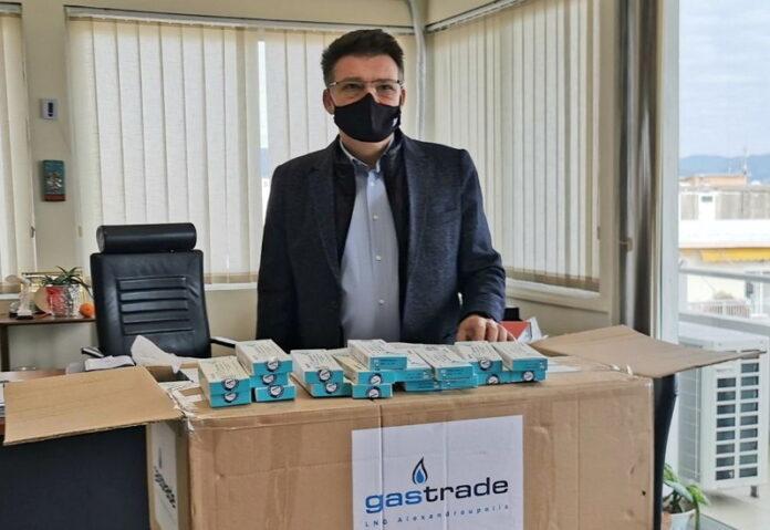 δωρεά rapid test,gastrade