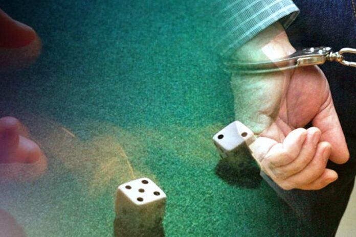 σύλληψη, τυχερά παιχνίδια