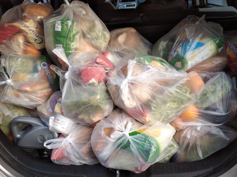 σακούλες τρόφιμα