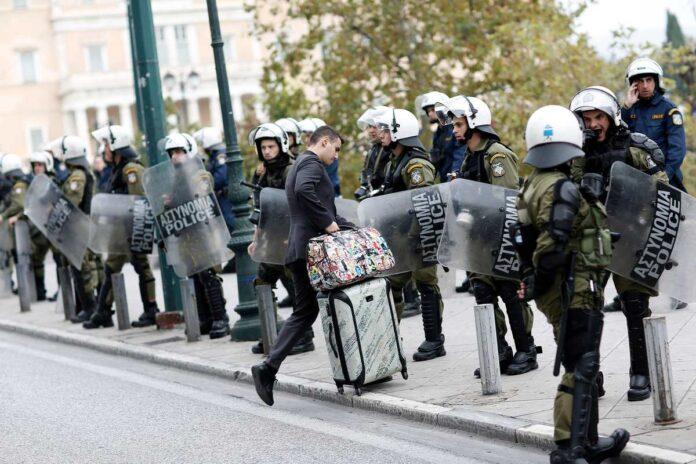 αστυνομία στην Αθήνα