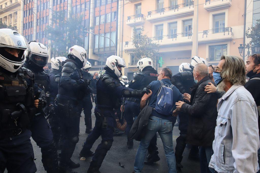 η αστυνομία στον εορτασμού του πολυτεχνείου