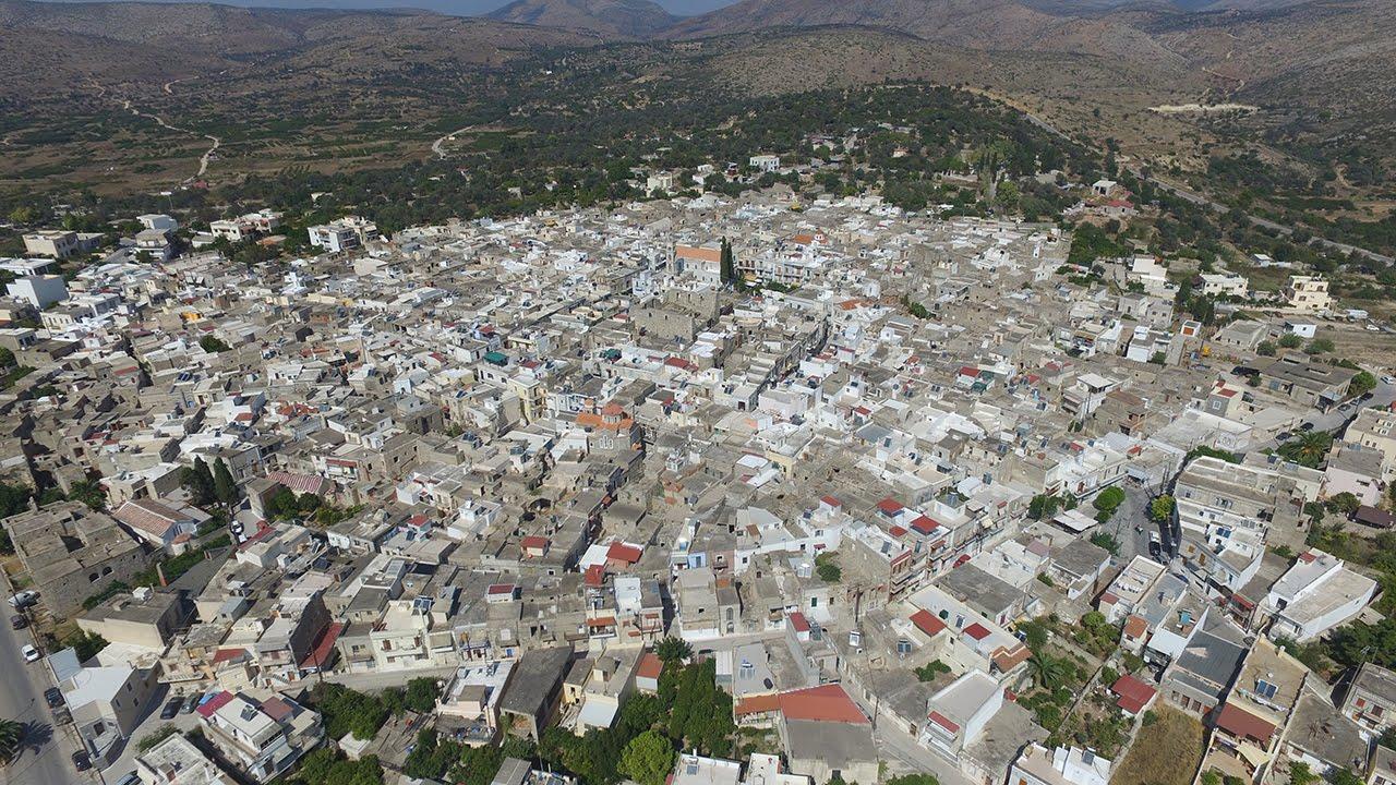 χωριό αεροφωτογραφία