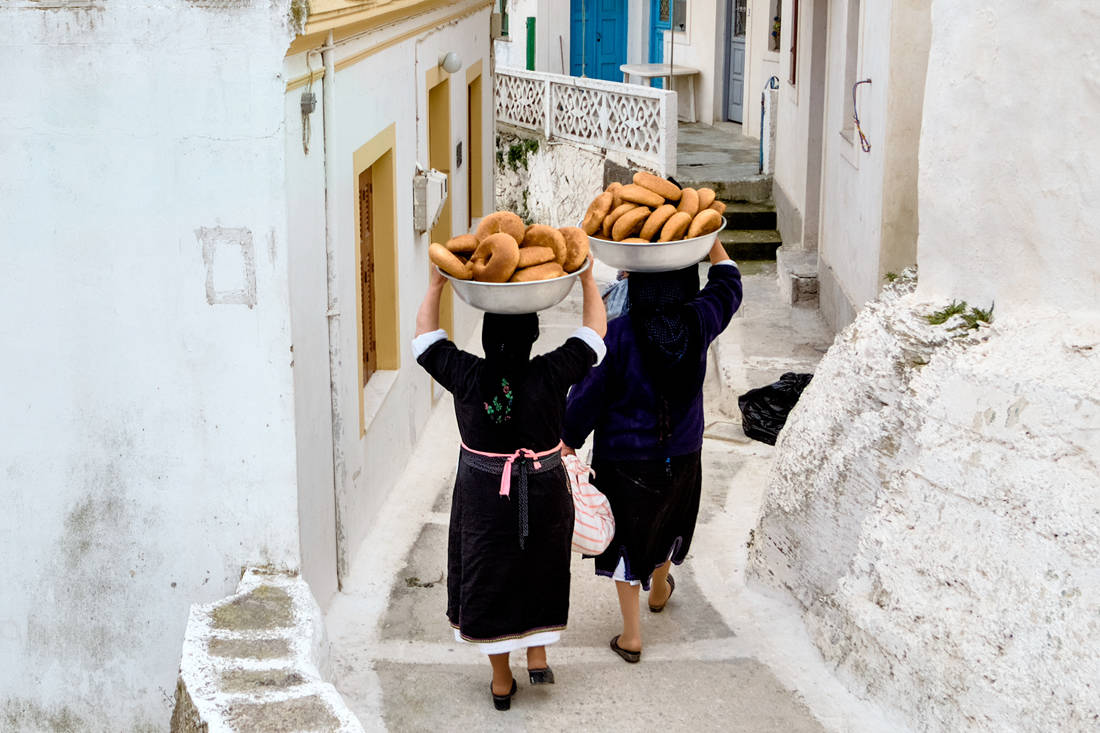 γυναίκες χωριό κουλούρια