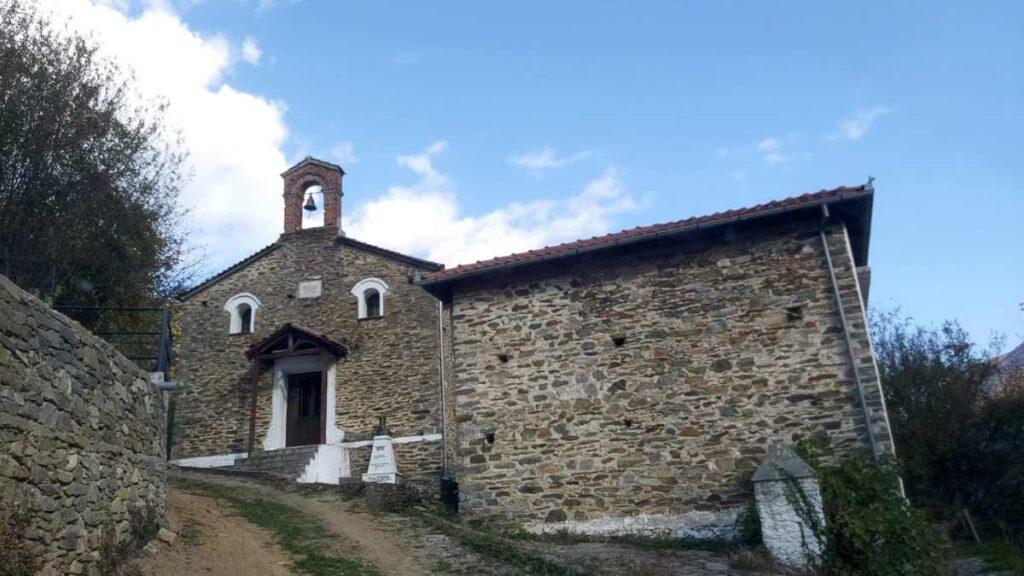 εκκλησία Αγίου Νικολάου στην Μόρνα