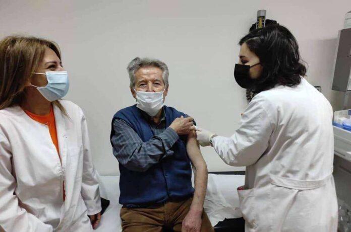 εμβολιασμός άνω των 85 ετών