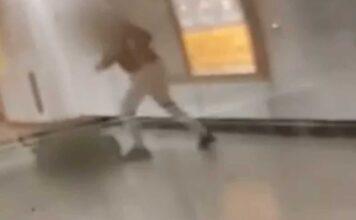 επίθεση σε σταθμάρχη του μετρό