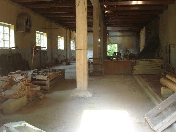 Εσωτερικό εργοστασίου ξυλείας στην Μόρνα