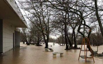 πλημμυρα πάρκο Εβρος