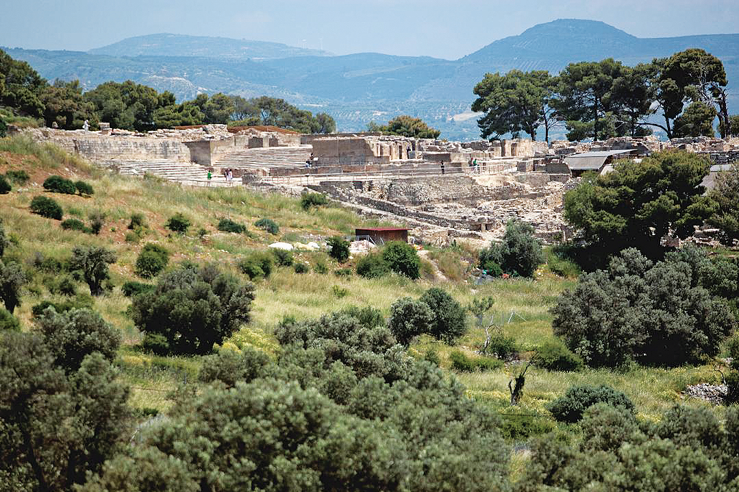 ο αρχαιολογικός χώρος της Φαιστού
