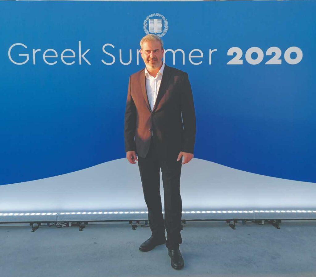 Δημήτρης Φραγκάκης καμπάνια τουρισμού 2020