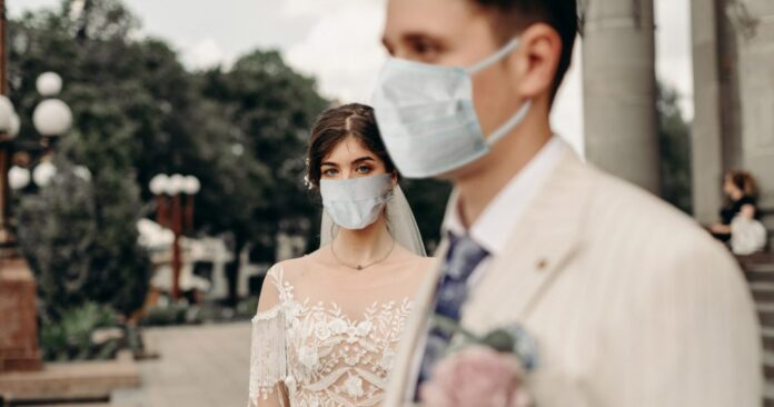 Γάμος με μάσκα