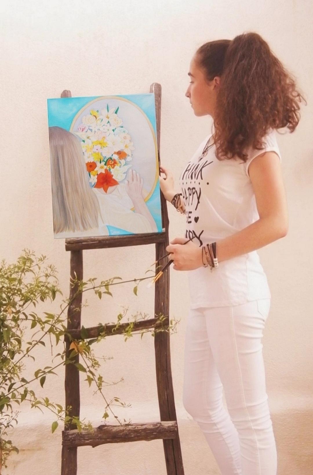 κορίτσι πίνακας