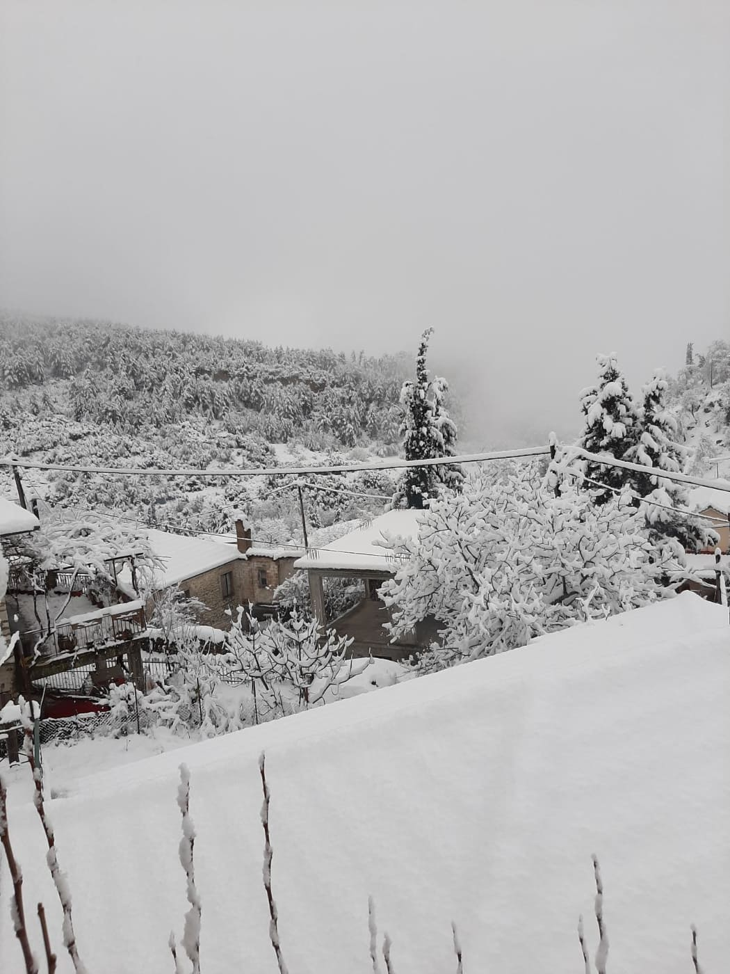 Χιονισμένα Καλάβρυτα