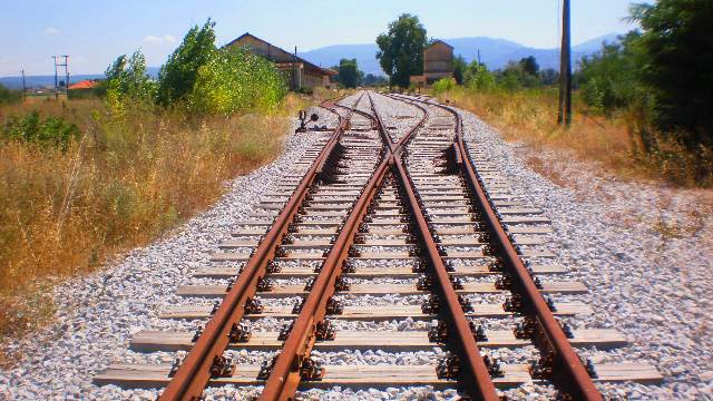 Ράγες τρένου