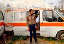 ο άστεγος 33χρονος που ζει σε ασθενοφόρο