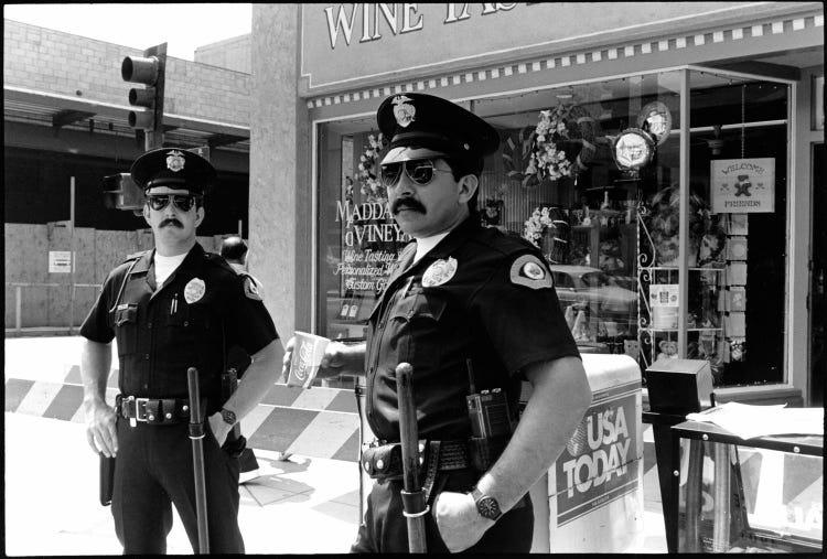 αστυνομία στην Αμερική δεκαετία '80