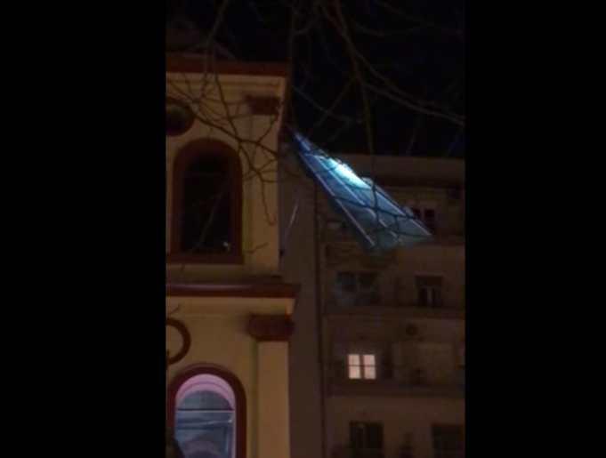 ζημιές στον ιερό ναό παναγούδας