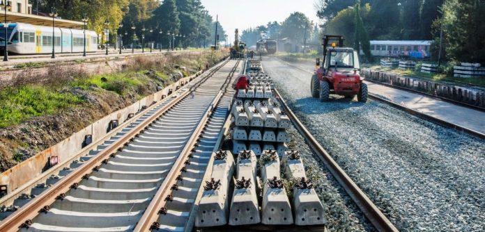 έργα στις σιδηροδρομικές γραμμές Βόλου Λάρισας