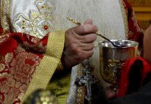 ιερέας στην Κάλυμνο θέλει να κοινωνήσει ασθενείς με κορονοϊό