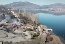 Ξενοδοχείο Καστοριά από ψηλά