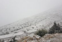 Χιόνια στην Ήπειρος