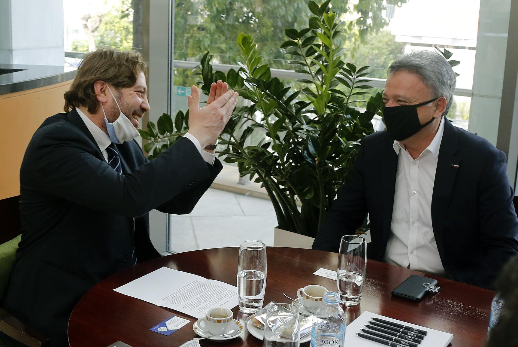 Συνάντηση δημάρχου με υπουργό τουρισμού