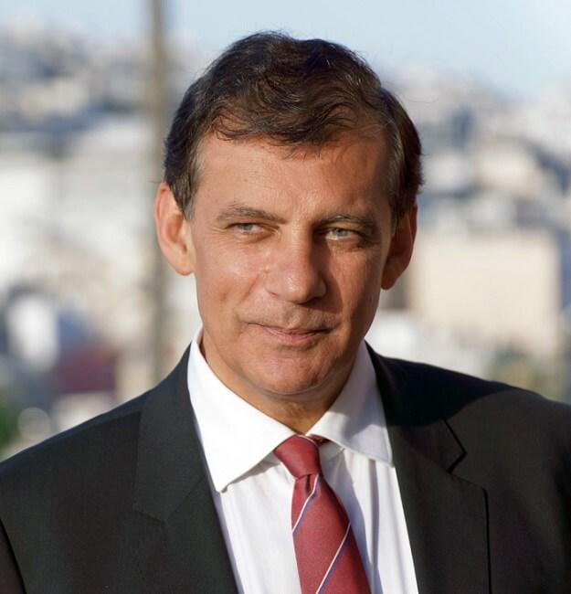O πρύτανης του ΕΚΠΑ Αθανάσιος Δημόπουλος