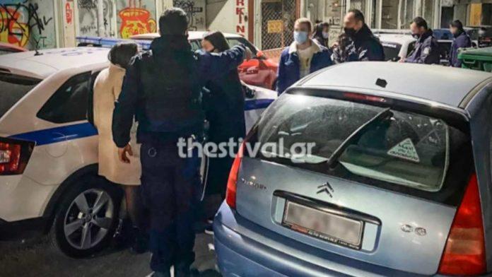 πάρτι Γάλλων φοιτητών στην Θεσσαλονίκη