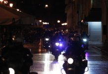 Επεισόδια μεταξύ κουκουλοφόρων και αστυνομικών